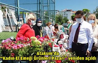 """Atakum'da """"Kadın El Emeği Ürünleri Pazarı""""..."""