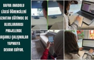 Bafra Anadolu Lisesi Öğrencileri Başarı Peşinde