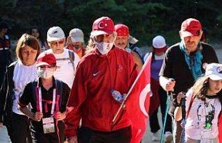 Çanakkale gazisinin oğlu, 85 yaşında 95 kilometrelik...