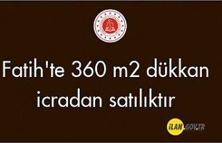 Fatih'te 360 m² dükkan Satılık