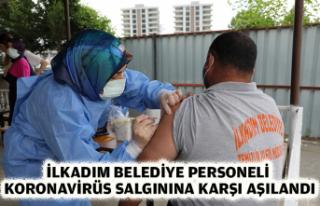 İLKADIM BELEDİYE PERSONELİ KORONAVİRÜS SALGININA...