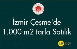 İzmir Çeşme'de 1.000 m² tarla Satılık