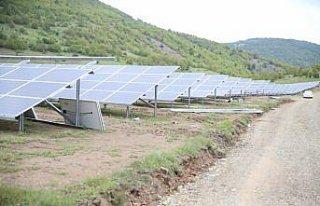 Ordu'da kurulan güneş enerjisi santraliyle ülke...