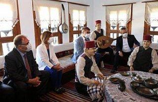 Safranbolu'da restorasyonu tamamlanan Kaymakamlar...