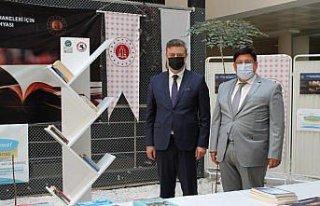 Samsun'da ceza infaz kurumları kütüphanelerine...