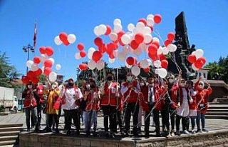 Türk Kızılayın kuruluşunun 153'üncü yıl dönümü...