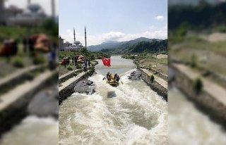 Türkiye Rafting Şampiyonası 1. ayak yarışları...