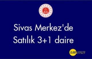 Sivas Merkez'de 3+1 daire Satılık