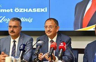 AK Parti Genel Başkan Yardımcısı Özhaseki'den...