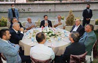Amasya'da muharrem ayı dolayısıyla iftar programı...