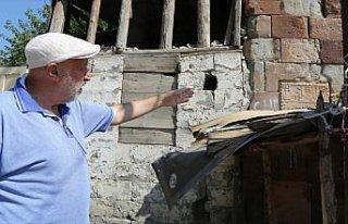 Artvin Gevhernik Kalesi'nde arkeolojik kazı çalışması...