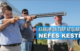 Atakum'da Trap Atışları Nefes Kesti