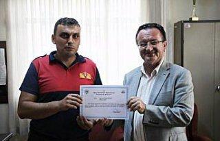 Bozkurt'taki sel bölgesinde görev alan ekipler teşekkür...