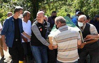 Bozkurt'taki sel felaketinde hayatını kaybeden Gülsüm...