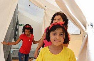 Bozkurt'taki sel felaketinden etkilenen anne çadır...