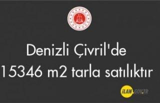 Denizli Çivril'de 15346 m² tarla satılıktır