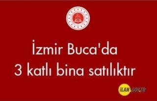 İzmir Buca'da 3 katlı bina satılıktır