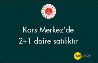 Kars Merkez'de 2+1 daire satılıktır