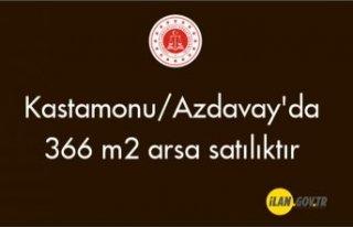 Kastamonu/Azdavay'da 366 m² arsa satılıktır