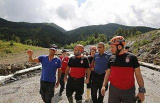 Kastamonu'da üç yaşındaki Buğlem'i kurtardıktan...