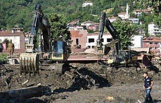 Kastamonu'nun Bozkurt ilçesindeki arama kurtarma...