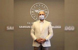 Mavi renge dönen Samsun'da hastaneye yatış oranları...