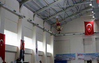 Trampolin Cimnastik Milli Takımı, hazırlıklarını...