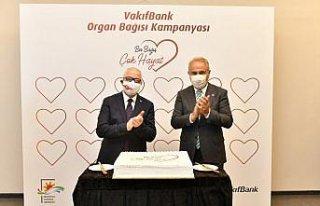 VakıfBank'tan organ bağışına destek