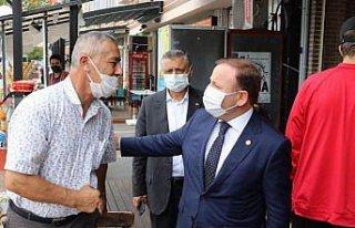 AK Parti Giresun Milletvekili Öztürk ilçe ziyaretleri...