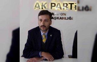 AK Parti İlçe Başkanı Kuzucu'dan İstiklal Marşı'nı...