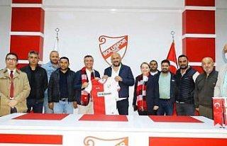 AK Parti teşkilatından Boluspor futbolcularına...