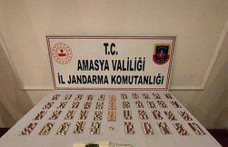 Amasya'da aracındaki çay paketlerinde uyuşturucu...