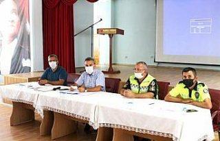 Amasya'da servis şoförleri ve rehber personele eğitim...