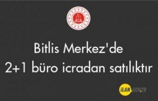 Bitlis Merkez'de 2+1 büro icradan satılıktır