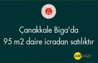 Çanakkale Biga'da 95 m² daire icradan satılıktır
