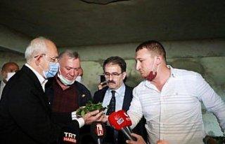 CHP Genel Başkanı Kemal Kılıçdaroğlu, Rize'de...