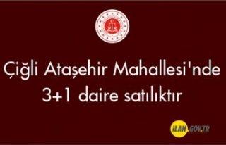 Çiğli Ataşehir Mahallesi'nde 3+1 daire icradan...