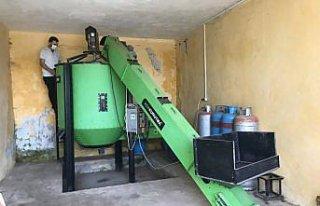 Fındığı kurutmak için makineli sisteme geçiş...