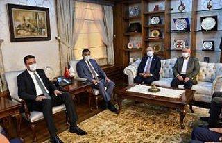 Gençlik ve Spor Bakan Yardımcısı Sinan Aksu, Çorum'da...