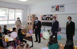 Havza'da yeni eğitim öğretim dönemi başladı