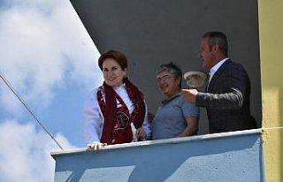 İYİ Parti Genel Başkanı Akşener Samsun'un Vezirköprü...