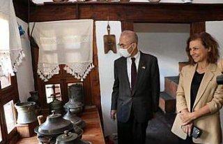 Japonya'nın Ankara Büyükelçisi Kazuhiro, Safranbolu'yu...