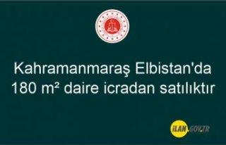 Kahramanmaraş Elbistan'da 180 m² daire icradan...
