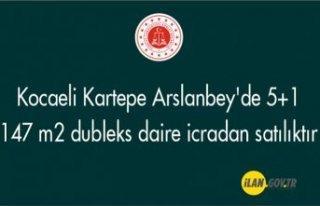 Kartepe Arslanbey'de 5+1 147 m² dubleks daire...