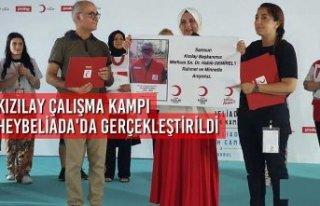 Kızılay Çalışma Kampı Heybeliada'da Gerçekleştirildi