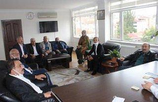 MHP Havza İlçe Başkanlığından Kaymakam Nayman'a...