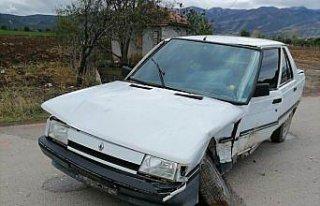 Mobil aşı ekibinin aracının otomobille çarpışması...