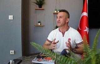 Olimpiyat şampiyonu boksör Busenaz Sürmeneli'nin...