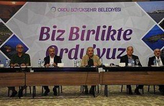Ordu Büyükşehir Belediye Başkanı Güler kentte...