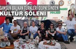 Samsun Balkan Türkleri Derneğinden Kültür Şöleni